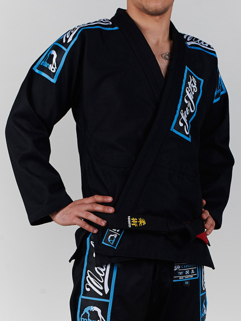 "MANTO ""CHAMP 5.0"" BJJ GI Black"