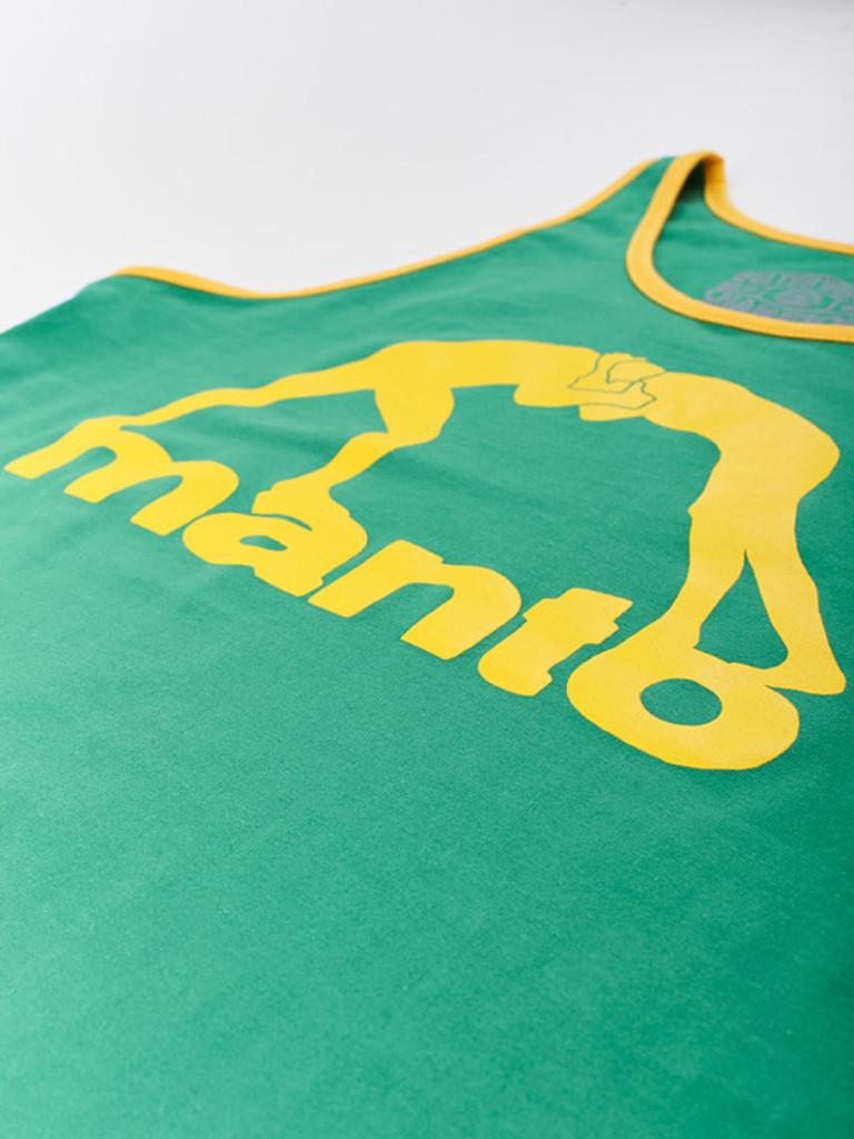 "MANTO ""VIBE"" TANK TOP Green"