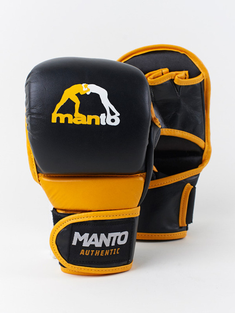 "MANTO ""VALETUDO"" MMA Training Gloves Black"
