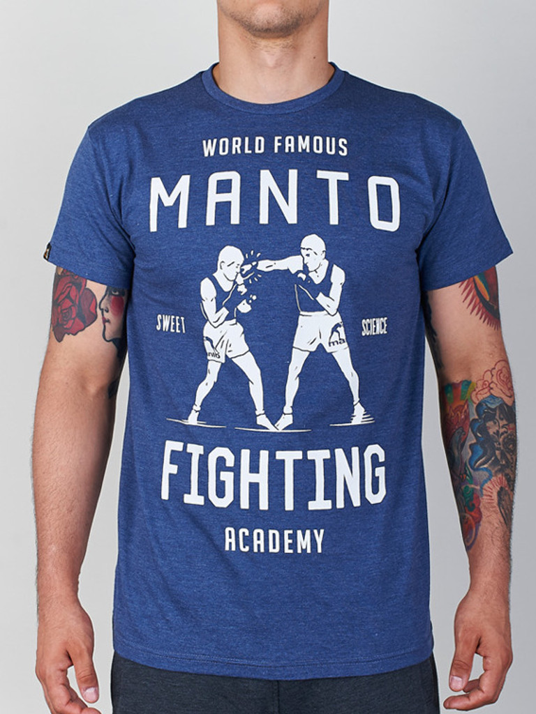 "MANTO ""ACADEMY"" T-SHIRT Denim"