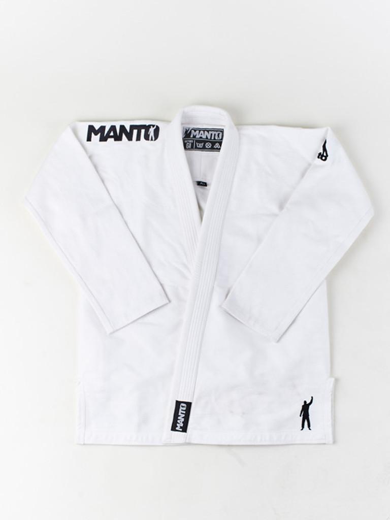 """MANTO """"VICTORY"""" BJJ GI White"""