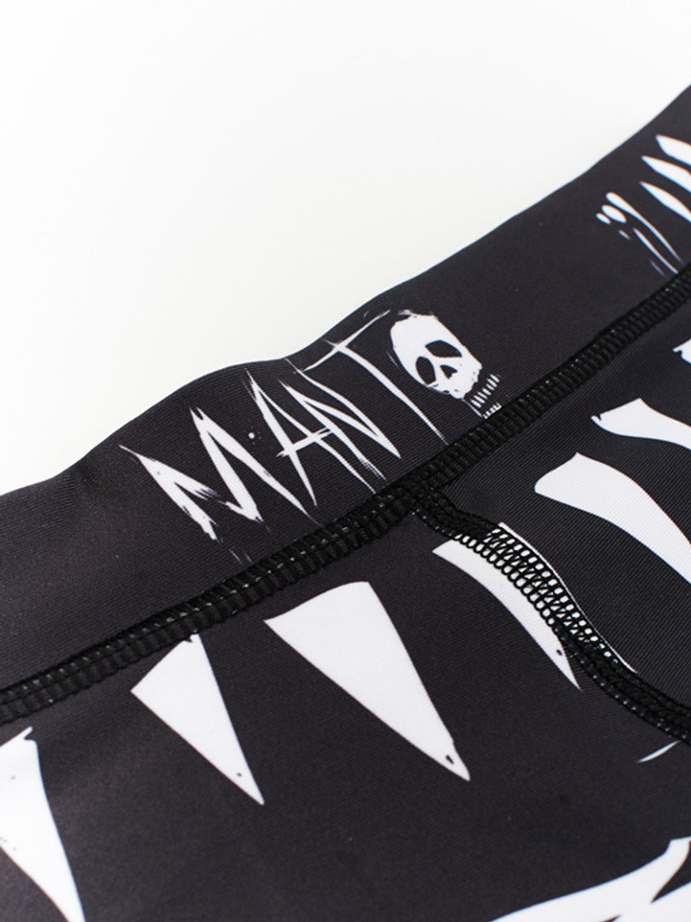"MANTO ""VOODOO"" SPATS Black"