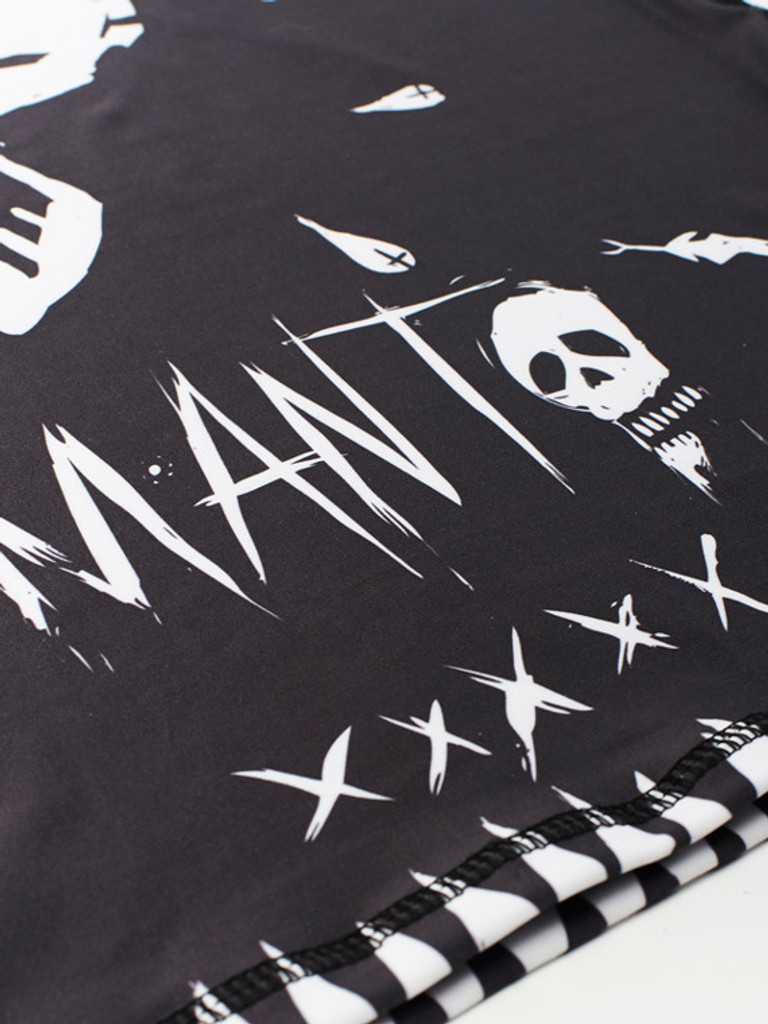 """MANTO """"VOODOO"""" RASHGUARD Black"""