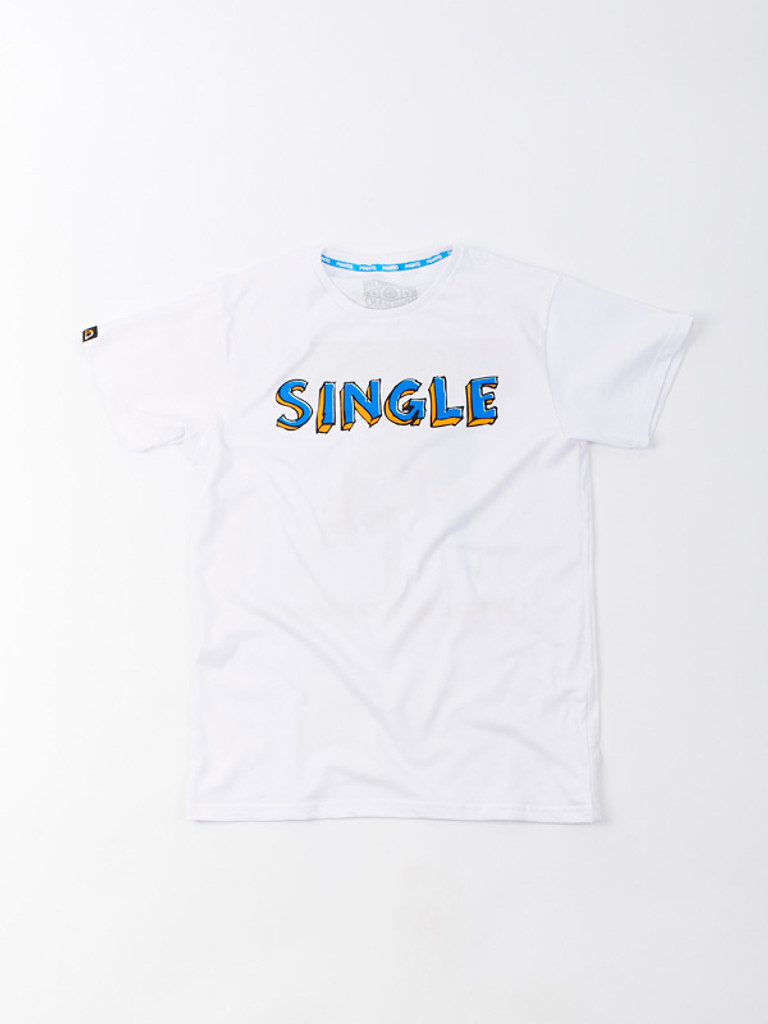 "MANTO ""SINGLE"" T-SHIRT White"