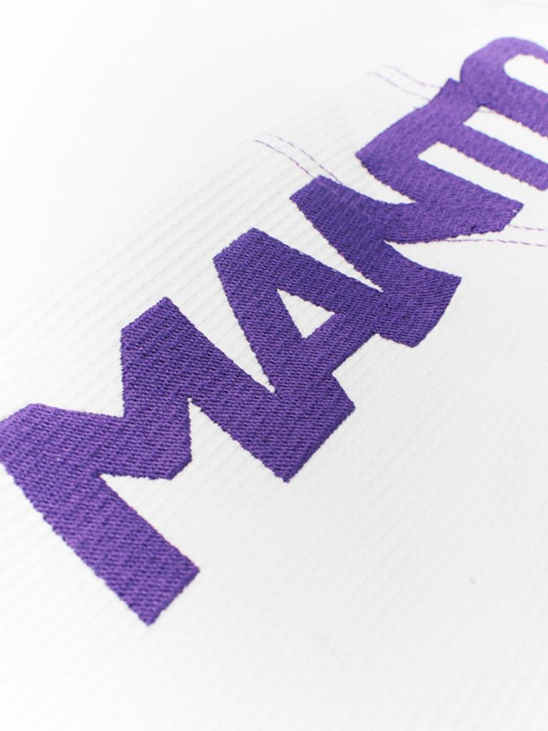 """MANTO """"X2"""" BJJ GI White"""