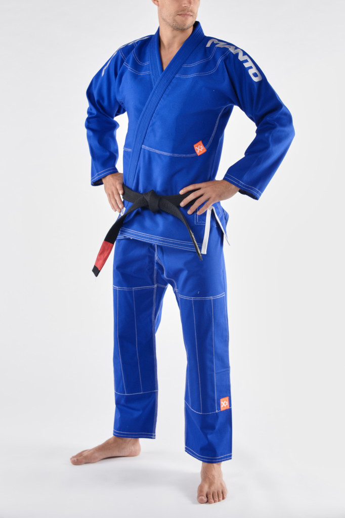 "MANTO ""X2"" BJJ GI Blue"