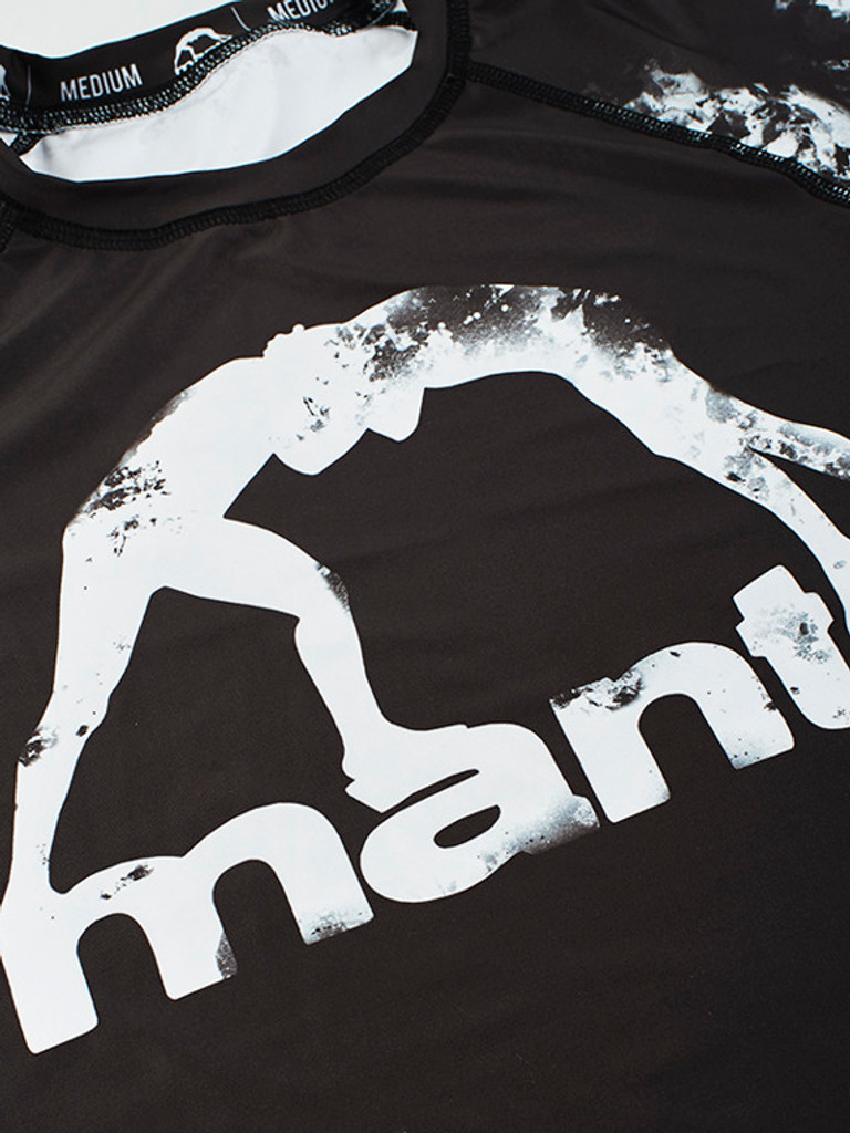 "MANTO ""MADNESS"" RASHGUARD Black"