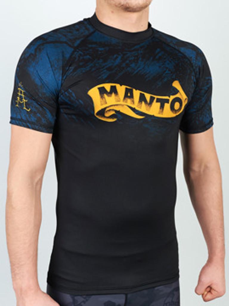 "MANTO ""PERFECT STORM"" RASHGUARD Black"