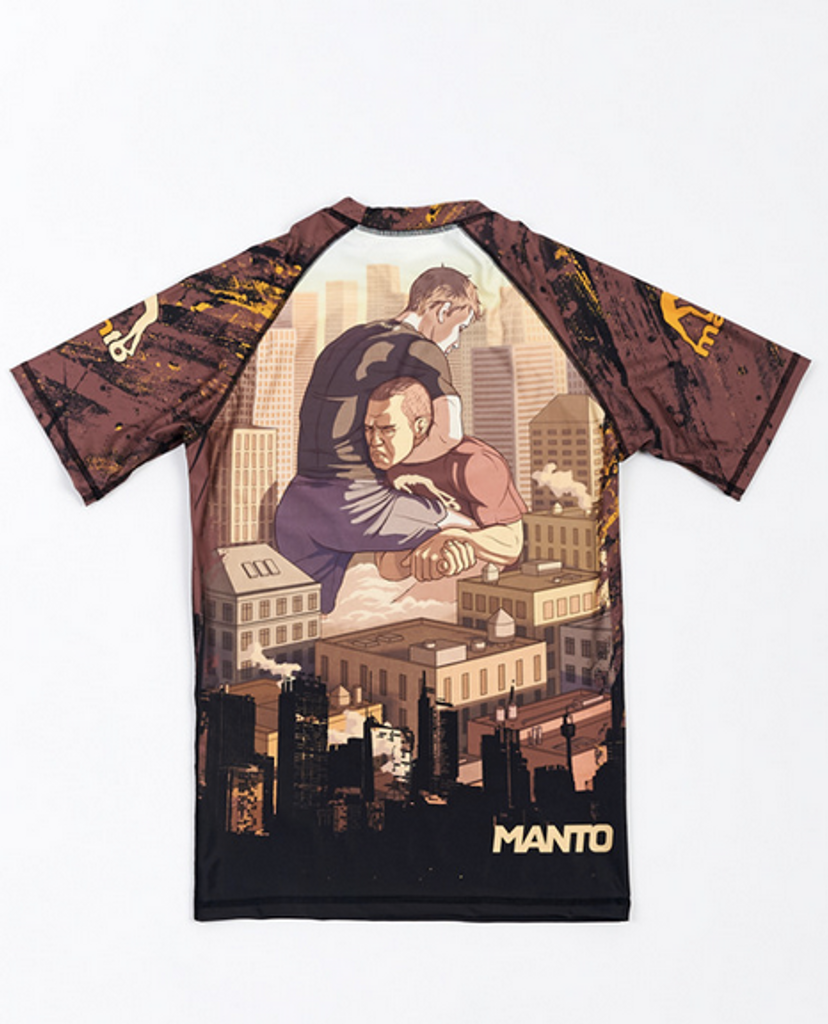 "MANTO ""MAT LIFE"" RASHGUARD Short Slv"