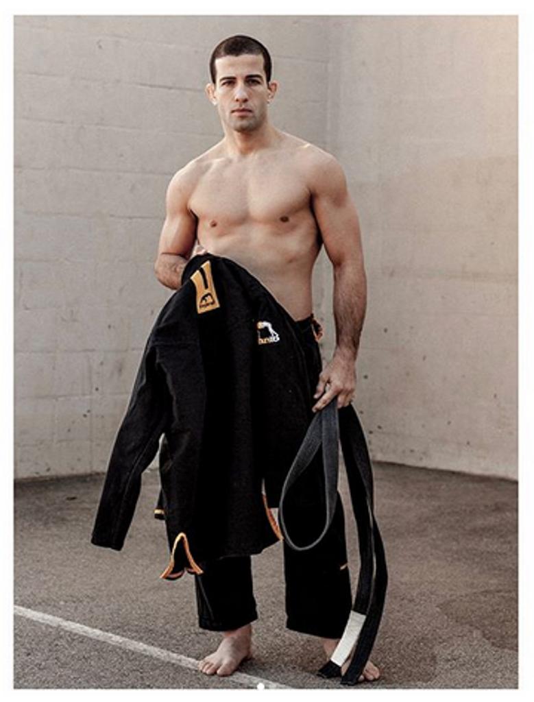 "Jiu-Jitsu World Champion and UFC Fighter Augusto ""Tanquinho"" Mendes wearing the new MANTO Technico BJJ Gi"