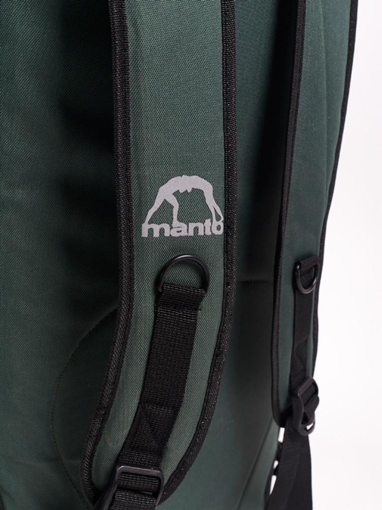 "MANTO ""SEMPER FI"" Hybrid Backpack/Dufflebag Green"