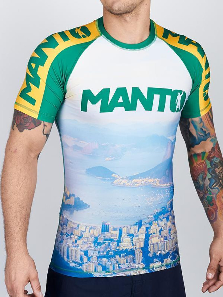 "MANTO ""RIO"" RASHGUARD v2 Short Slv"