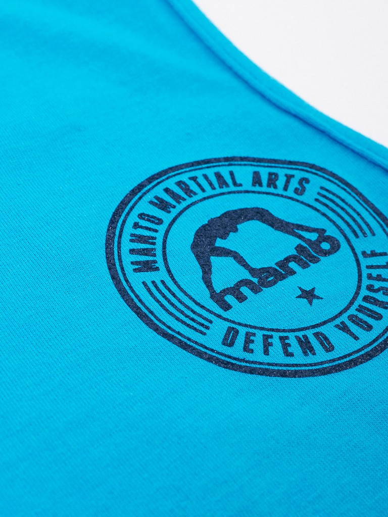 """MANTO """"DEFEND"""" TANK TOP Turquoise"""