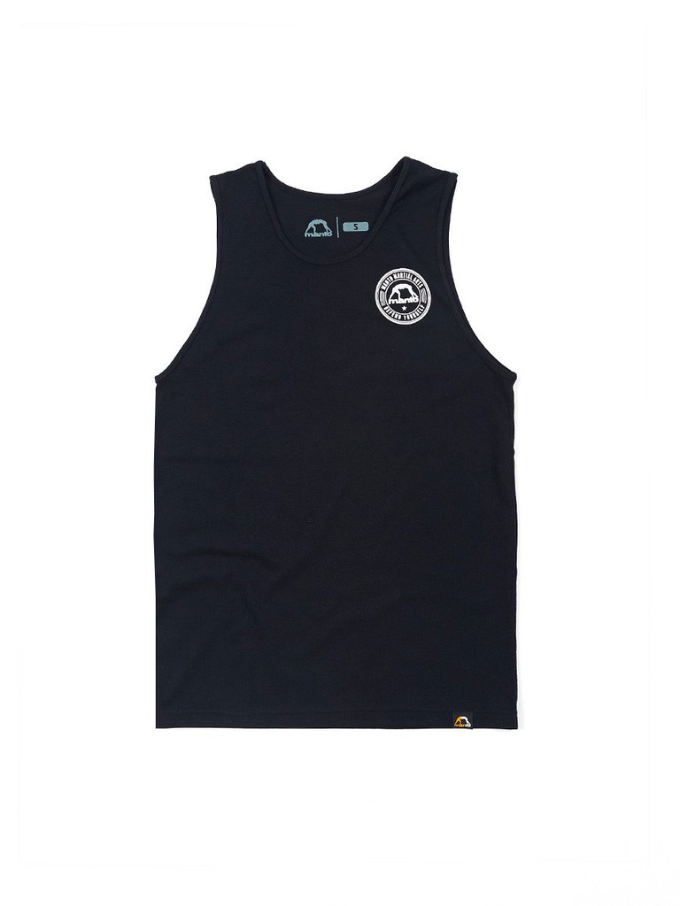 "MANTO ""DEFEND"" TANK TOP Black"