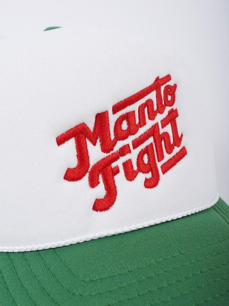 "MANTO ""CALI "" CAP Green & White"