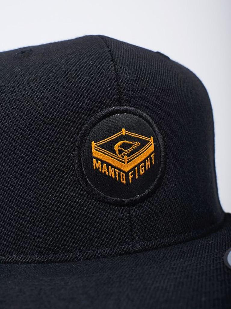 """MANTO """"RING """" CAP Black"""