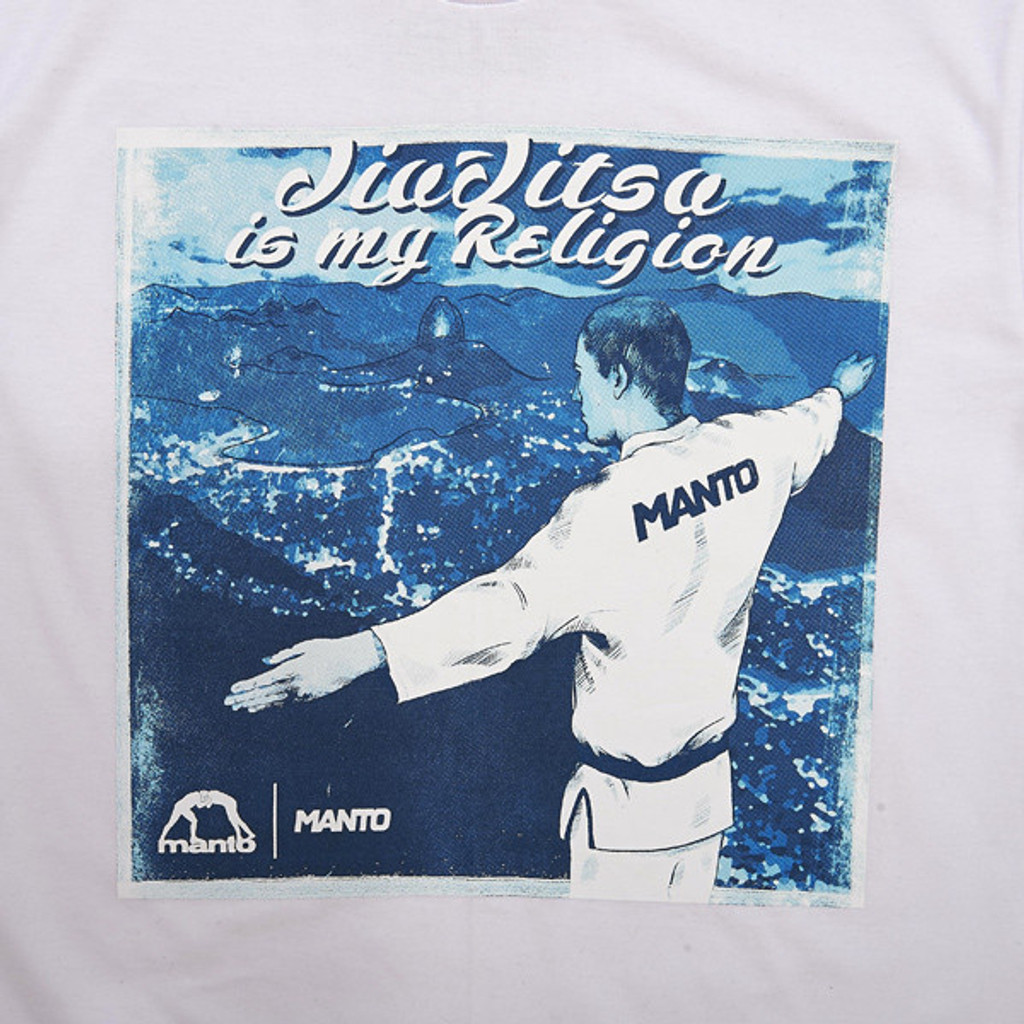 "MANTO ""RELIGION"" T-SHIRT White"