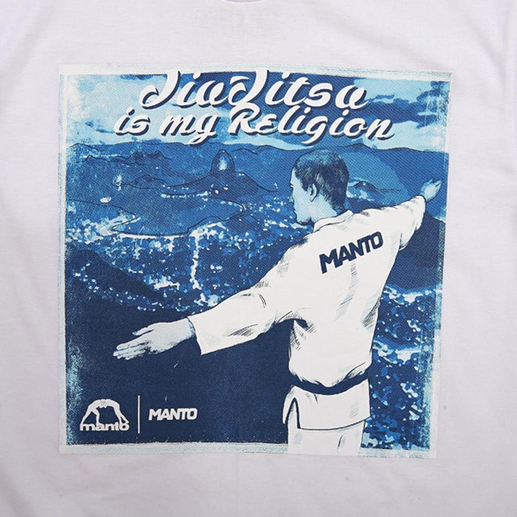 """MANTO """"RELIGION"""" T-SHIRT White"""