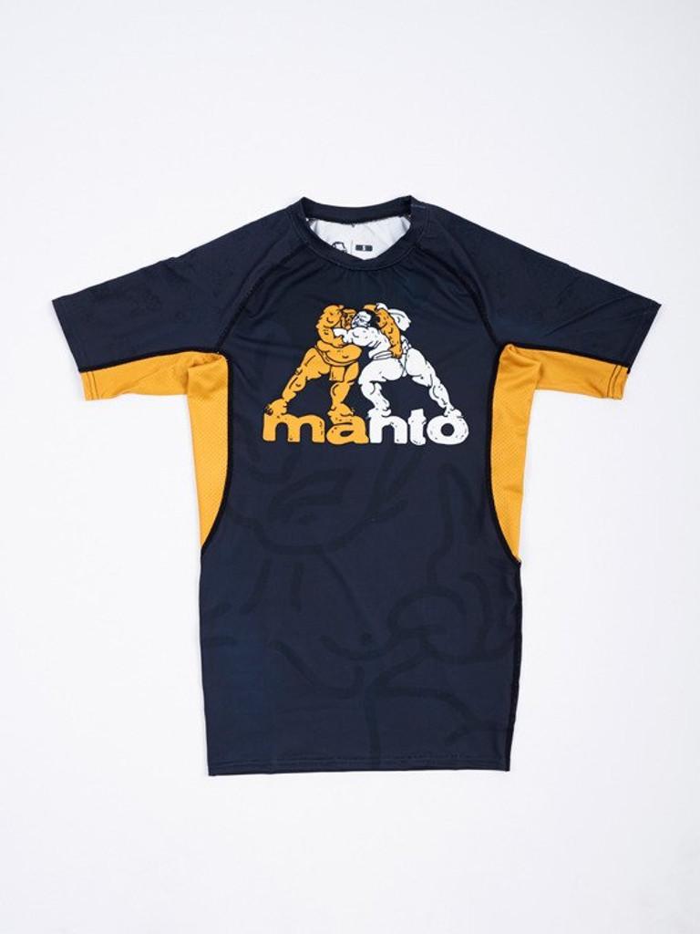 """MANTO """"SUMO"""" RASHGUARD Short Slv"""
