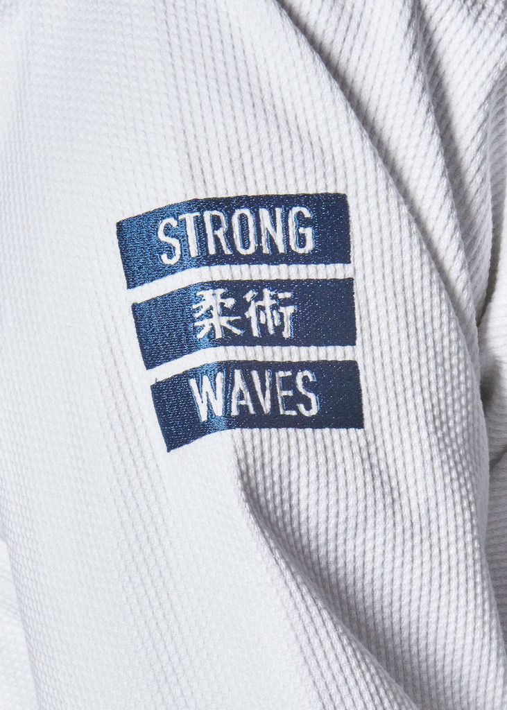 "MANTO ""STRONG WAVES"" BJJ GI White"