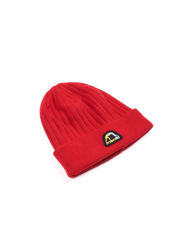 "MANTO ""MARINER "" BEANIE Red"