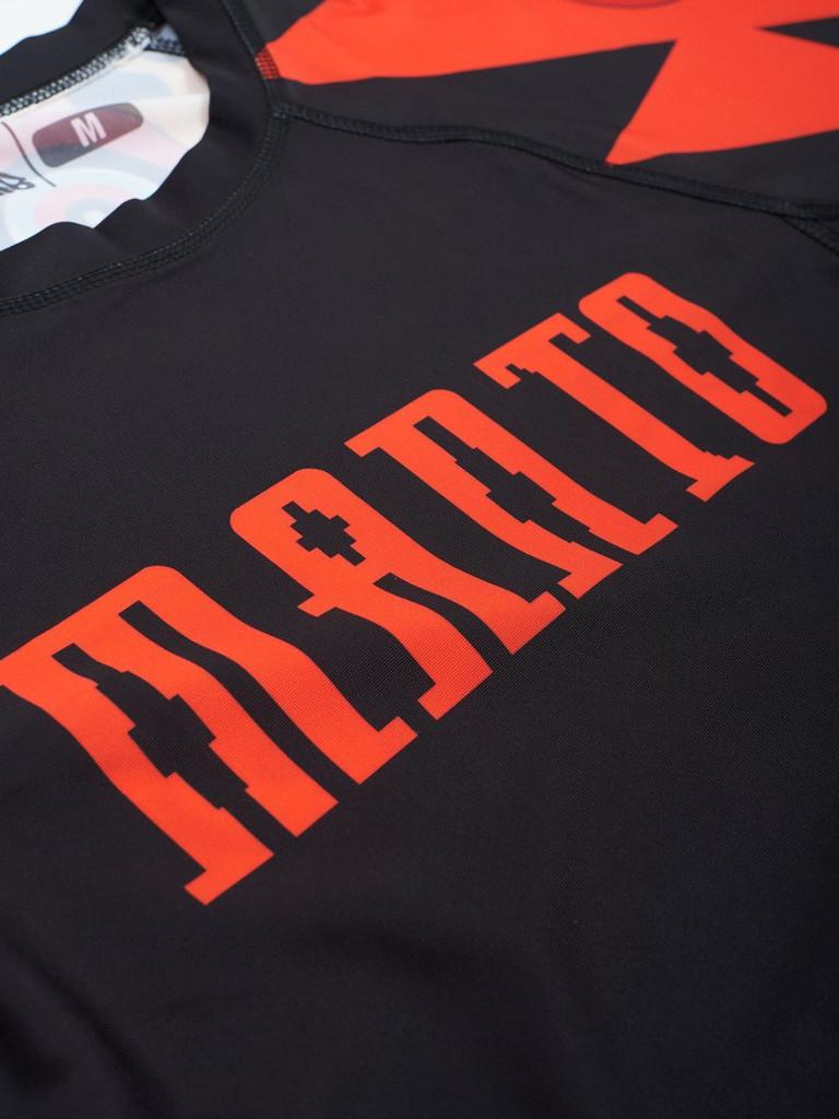 """MANTO """"JAGUAR"""" RASHGUARD Short Slv"""