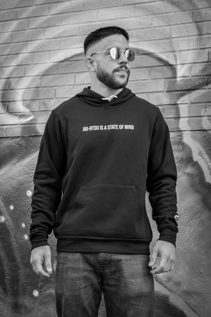 "MANTO ""STATE OF MIND"" HOODIE Black"