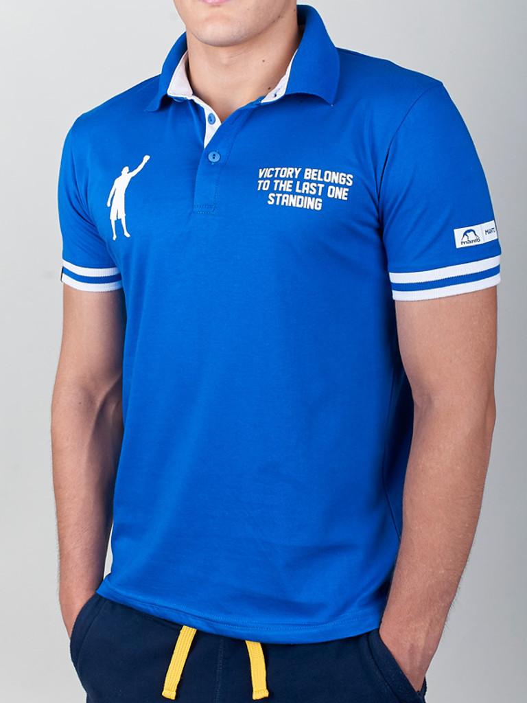 "MANTO ""VICTORY"" Polo Blue"