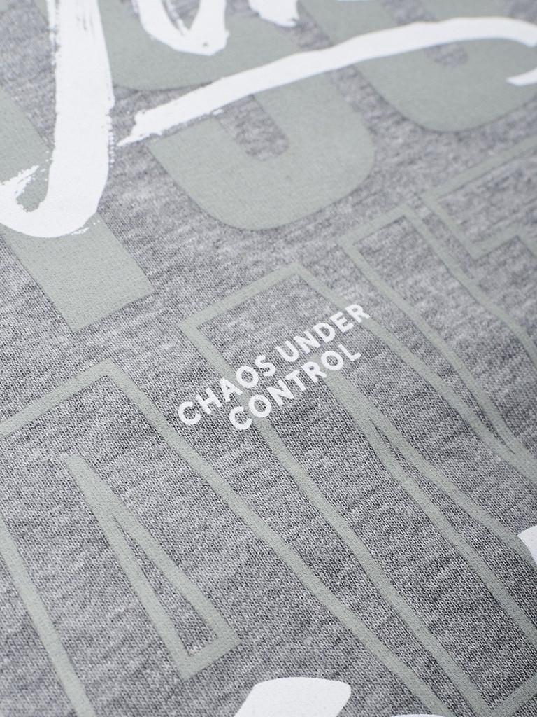 """MANTO """"JIU-JITSU"""" T-SHIRT Grey"""