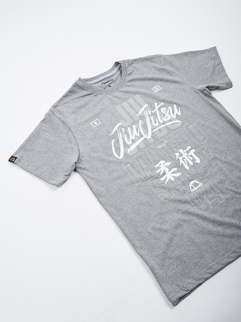 "MANTO ""JIU-JITSU"" T-SHIRT Grey"