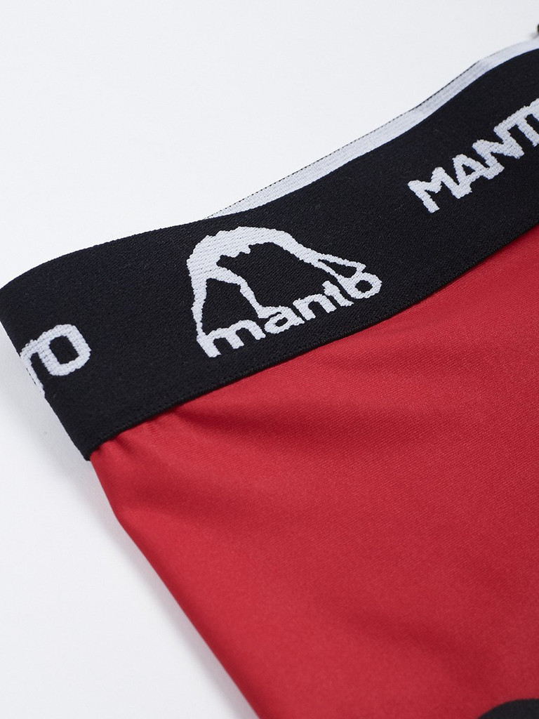 """MANTO """"DUAL"""" COMPRESSION VT SHORTS Red"""