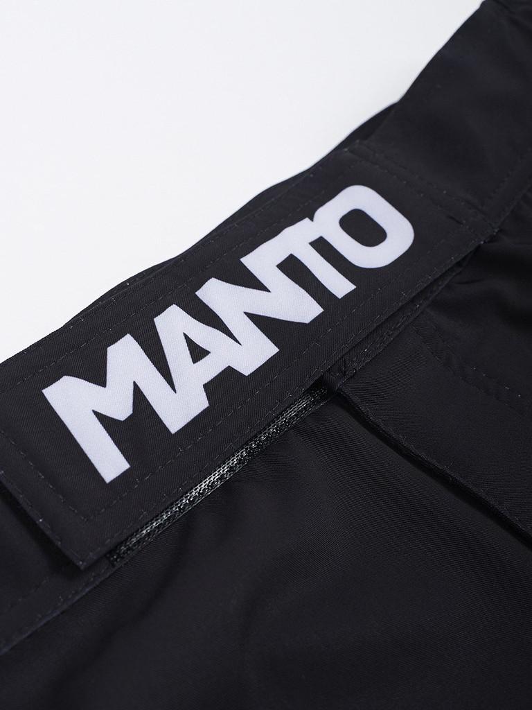 "MANTO ""ICON"" Pro Shorts Black"