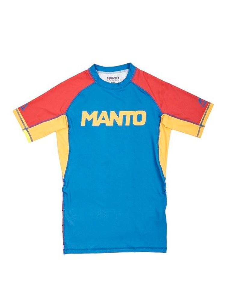 "MANTO ""GYM"" RASHGUARD  Short Slv"