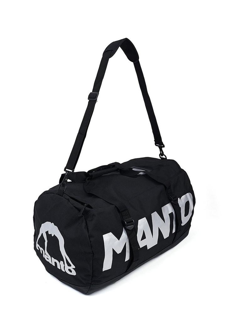 "MANTO ""PRIME""Dufflebag Black"
