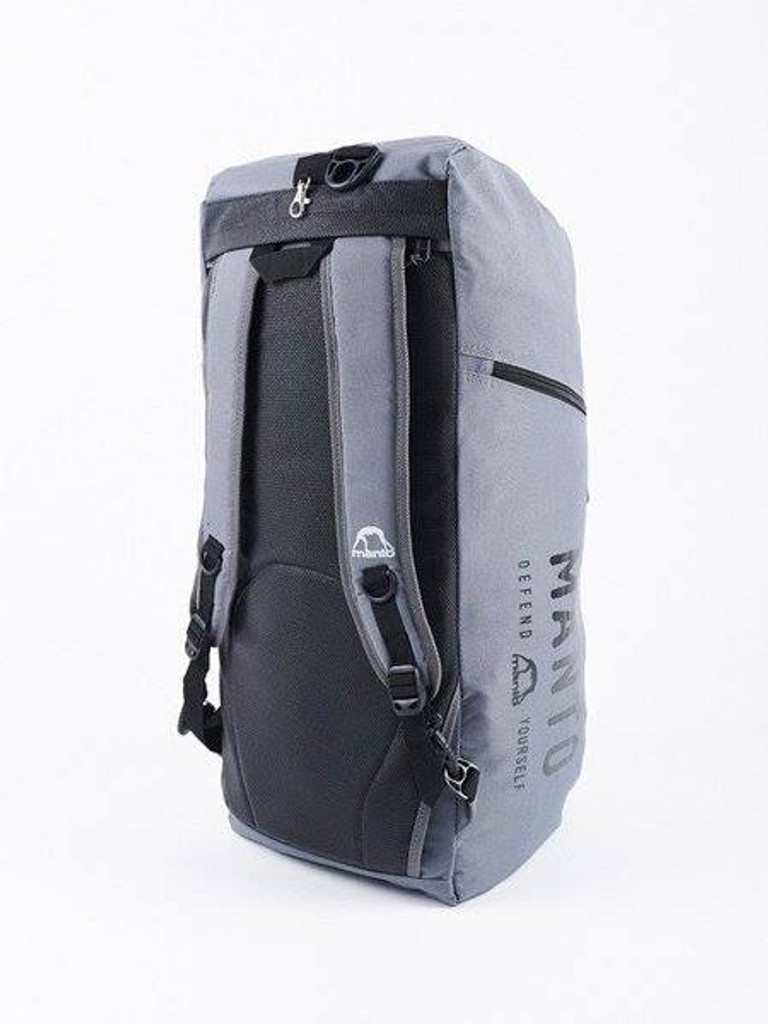 "MANTO ""DEFEND"" Hybrid Backpack/Dufflebag Grey"