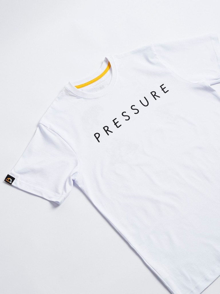 "MANTO ""PRESSURE"" T-SHIRT White"