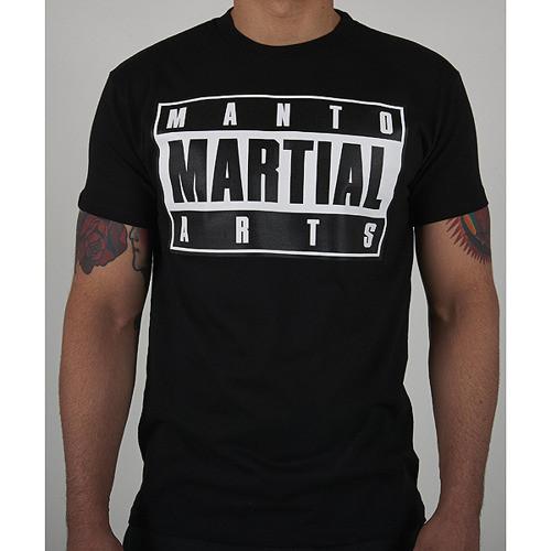"T-shirt ""MMA"" Black"