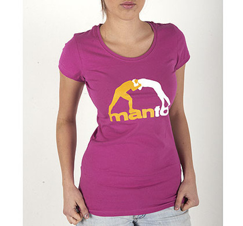 "T-shirt ""CLINCH"" Pink for Women"
