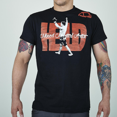 "MANTO ""HELD"" T-SHIRT  Black"