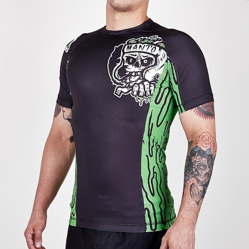 "MANTO ""ZOMBIE"" RASH GUARD Green"