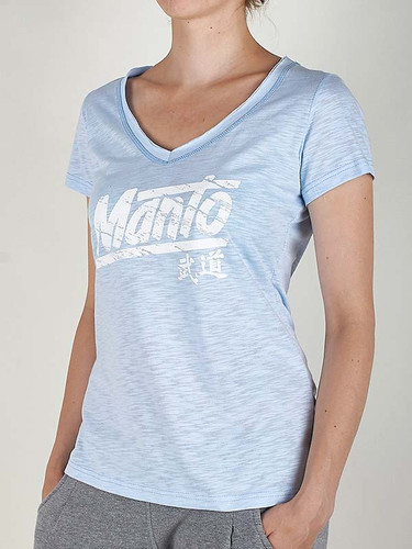 "MANTO ""AKIKO"" T-SHIRT Azure for Women"