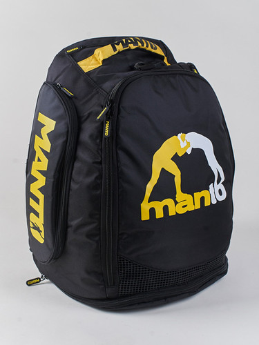 "MANTO ""VICTORY"" Backpack Black"
