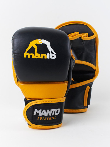 "MANTO ""VALETUDO"" MMA Training Gloves Black"