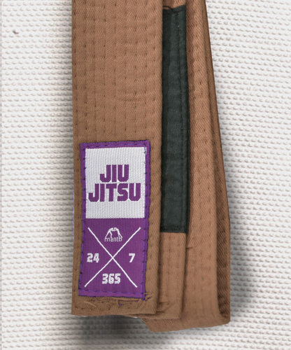 "MANTO ""EVERYDAY"" BJJ BELT - Brown"