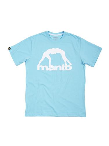 "MANTO ""VIBE"" T-SHIRT Ocean Blue"