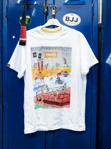 "MANTO ""GYM"" T-SHIRT White"