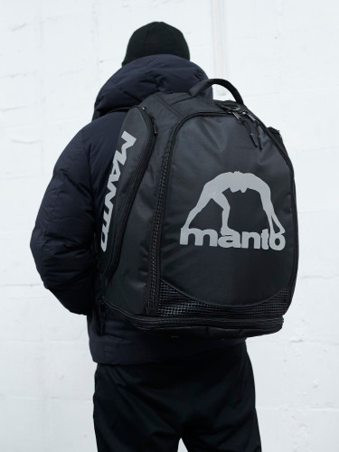 "MANTO ""VICTORY"" Convertible Backpack Black"