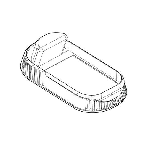 Glock Mid Profile Mag Well - 3D Printed