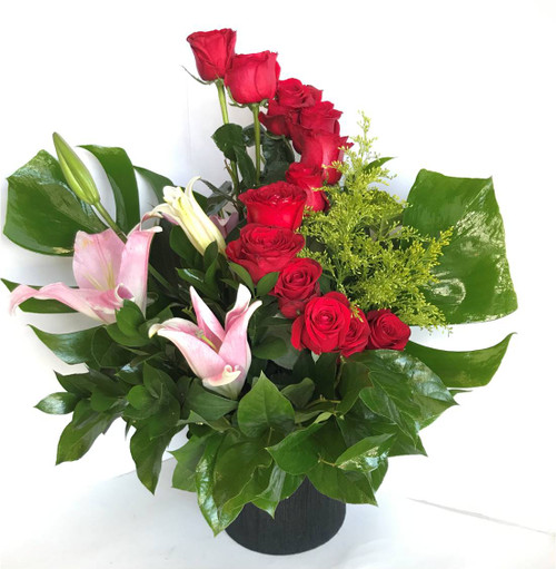 Angie's Beautiful Ladder - Roses, Lilies