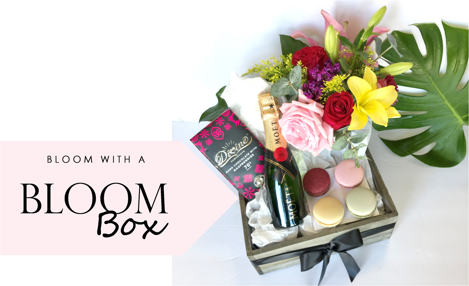 the-angies-floral-designs-el-paso-flowershop-el-paso-florist-79912-bloom-box-divine-chocolate-moet-chandon-macaroons-flower-arrangements.png